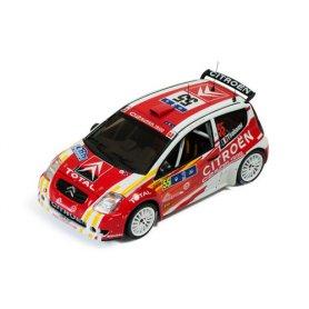 IXO 1:43 CITROEN C2 S1600 55 B.Tirabassi-J-J.Renucci Winner Tour de Corse 2006
