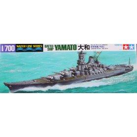 Tamiya 1:700 IJN Yamato - JAPANESE BATTLESHIP