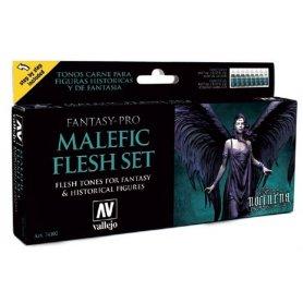 Vallejo Fantasy-Pro Malefic Flesh Set