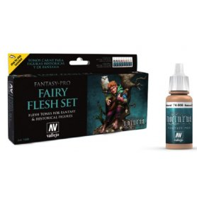 Vallejo Paints set FAIRY FLESH SET / 8 paints