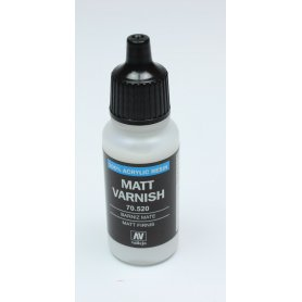 Lakier bezbarwny Vallejo Matt Varnish 17ml