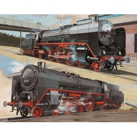 REVELL 02158 BR 01 & 02 FAST TRAIN
