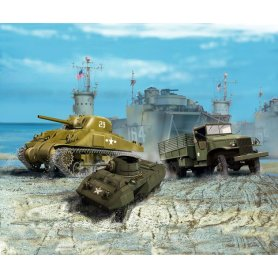 Revell 032250 US Army Vehicles WWII 1/144