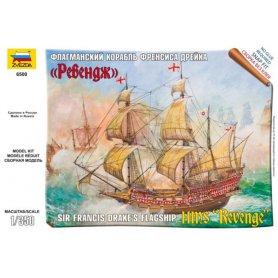 ZVEZDA 6500 ENGLISH SHIP REVENGE