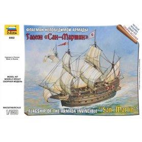 ZVEZDA 6502 SPANISH SHIP SAN MARTIN