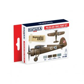 HATAKA HTKAS01 Polish Air Force paint set