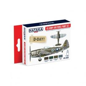 HATAKA HTKAS04 US Army Air Force paint set