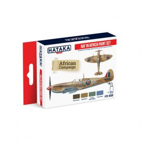 HATAKA HTKAS08 RAF in Africa paint set