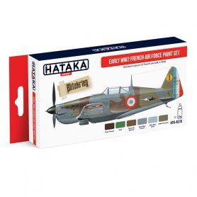 HATAKA HTKAS16 Early WW2 French Air Force paint se