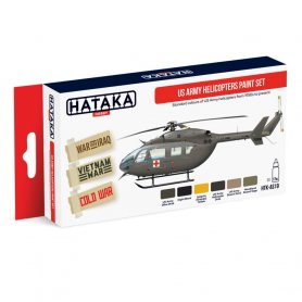 HATAKA HTKAS19 US Army Helicopters paint set