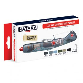HATAKA HTKAS20 Late WW2 Soviet Air Force paint set