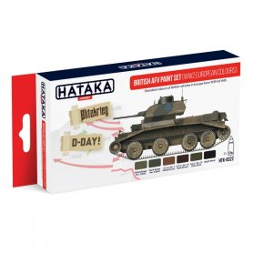 HATAKA HTKAS22 British AFV paint set (WW2 European