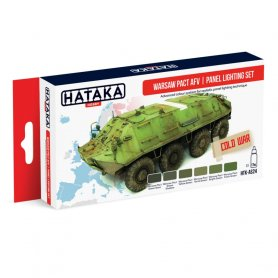 HATAKA HTKAS24 Warsaw Pact AFV | panel lighting se