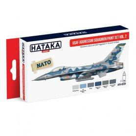 HATAKA HTKAS30 USAF Aggressor Squadron paint set v
