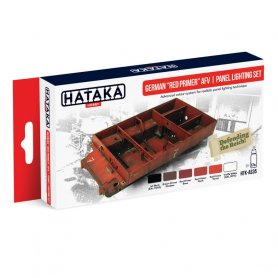 HATAKA HTKAS35 German Red Primer AFV | panel lig