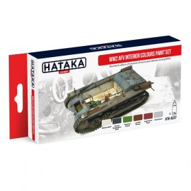HATAKA HTKAS37 WW2 AFV Interior Colours paint set
