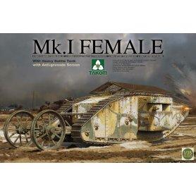 Takom 2033 WWI Mk. I Female w?A-G screen