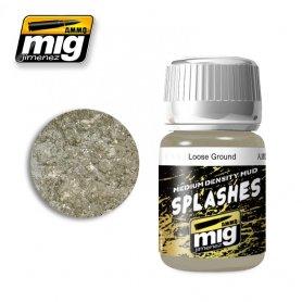 Ammo of Mig Splashes Loose Ground
