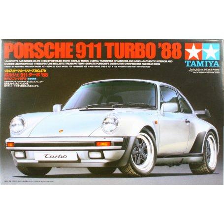 Tamiya 1//24  Porsche 911 Turbo 88 # 24279