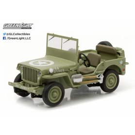 Greenlight 1:43 Jeep C7