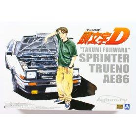 Aoshima 1:24 Toyota Trueno 86 Fujiwara vol.1