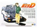 Aoshima 1:24 Toyota Trueno 86 Takumi Fujiwara Initial D stage 1