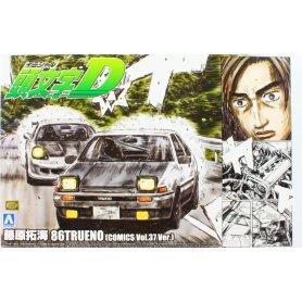 Aoshima 1:24 Toyota Trueno 86 Fujiwara (initial)