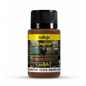 Vallejo Engine Effects - Brown Engine Soot