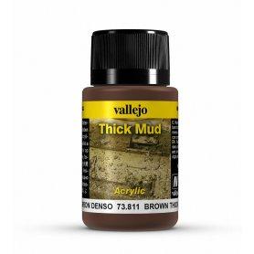 Vallejo Thick Mud - BrownMud 40ml