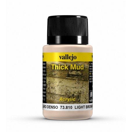 Vallejo Thick Mud - Light Brown Mud 40ml