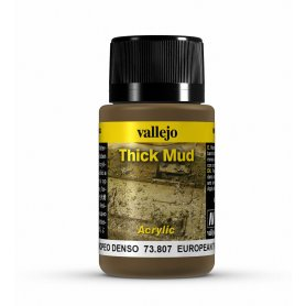 Vallejo Thick Mud - European Mud 40ml