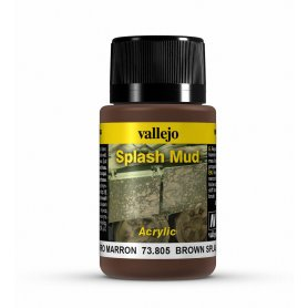 Vallejo Splash Mud - Brown Mud 40ml