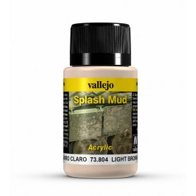 Vallejo Splash Mud - Light Brown Mud 40ml