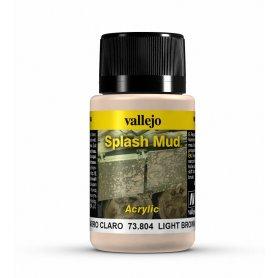 Vallejo Splash Mud - Light BrownMud 40ml