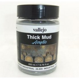 Vallejo Thick Mud - Industrial Mud 200ml