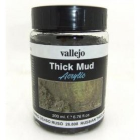Vallejo Thick Mud - Russian Mud 200ml