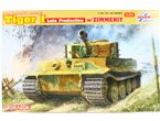 Dragon 1:35 6383 Pz.Kpfw.VI. Ausf.E TIGER I LATE W/ZIMMERIT