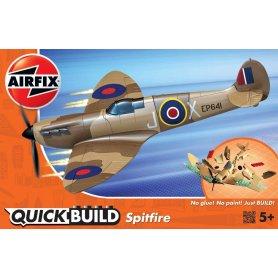 Airfix Klocki QUICK BUILD Spitfire Desert
