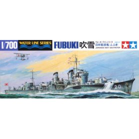 Tamiya 31401 Fubuki Destroyer 1/700
