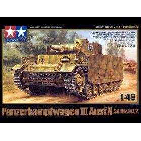 TAMIYA 1:48 32543 Panzerkampfwagen III Ausf. N - Sd.Kfz. 141/2