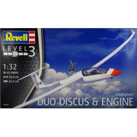 Revell 03961 1/32 Glider Duo Discus & Engine