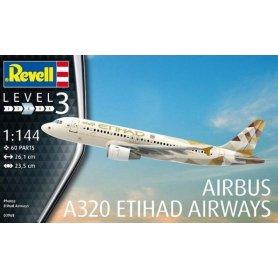 Revell 03968 1/144 Airbus A320 Etihad