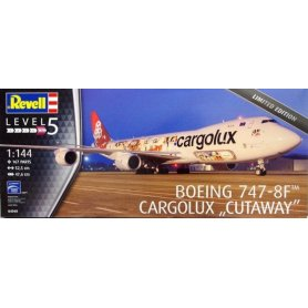 Revell 04949 1/144 Boeing 747-8F Limited Edition