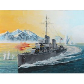Revell 05141 1/350 German Destroyer Type 1963
