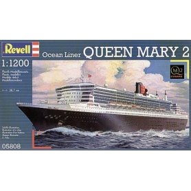 REVELL 05808 STATEK MINI 1/1200 /05808/ QUEEN MARY