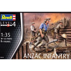 Revell 02618 Anzac Infantry (1915)