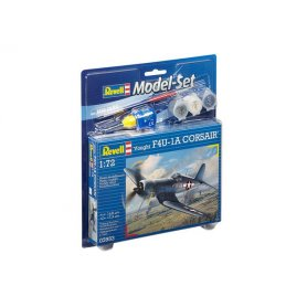 REVELL 63983 1/72 Model Set F4U-1D Corsair