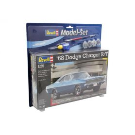 REVELL 67188 SET 1968 DODGE CHARGER