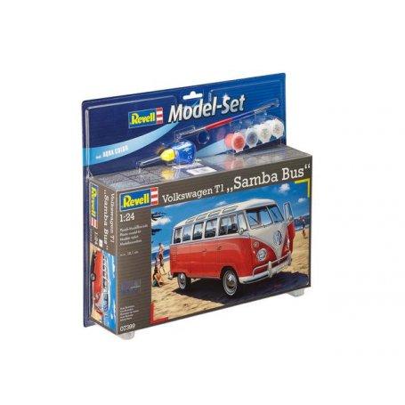 REVELL 67399 MODEL SET 1/24 /67399/ VW T1 SAMBA BU