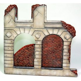Ruined building corner 1:35